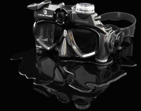 liquid image camera googles scuba wide angle, extrém, sport, extreme, sportok, outdoor