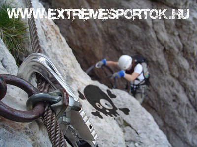 Via Ferrata, extrém sport